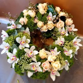Cymbidium wreath